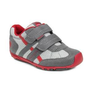 Кроссовки Pediped RS1934	MID GREY, CHERRY